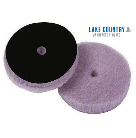 Lake Country Purple Foamed Wool pad 7""