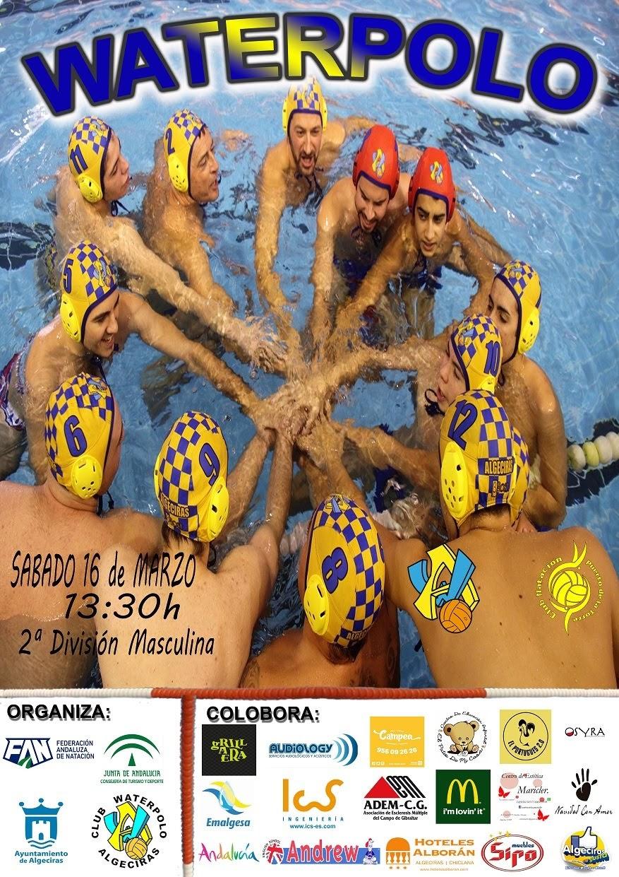 Agenda fin de semana Waterpolo  Algeciras