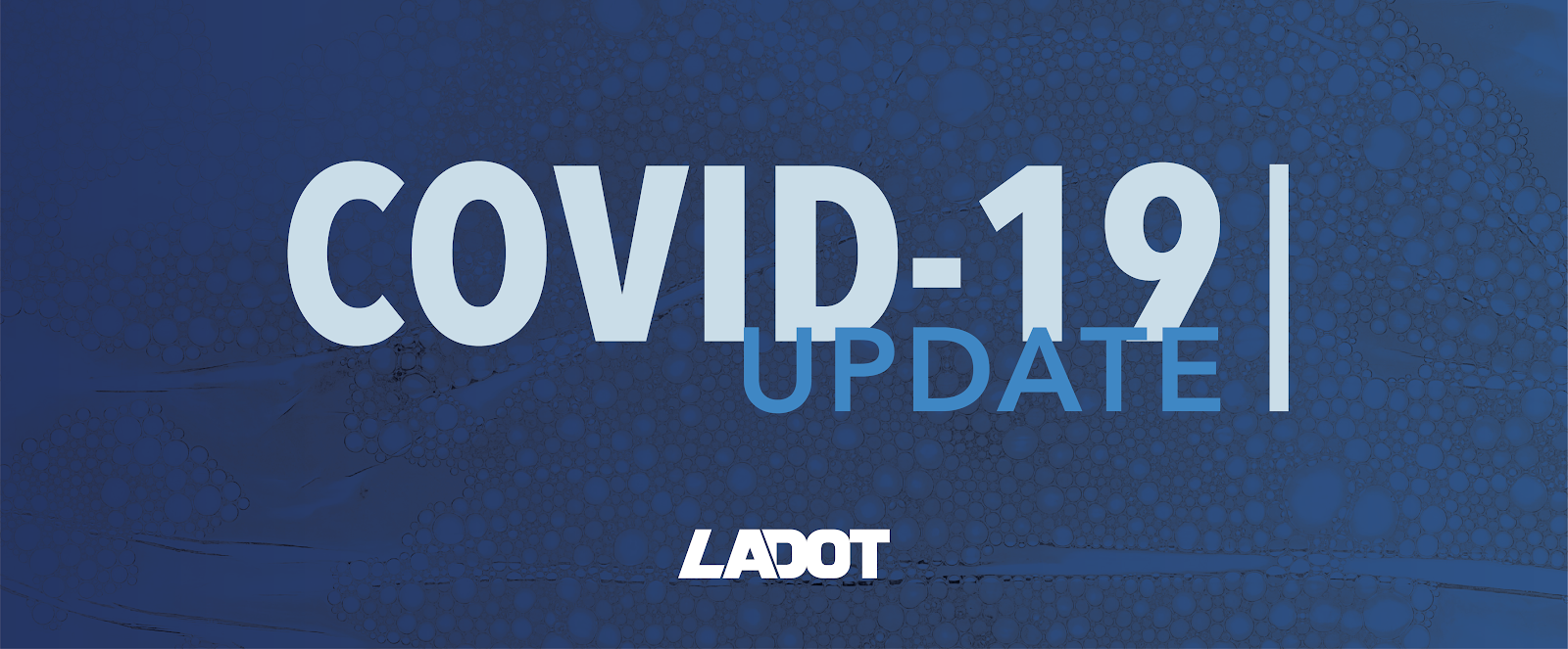 LADOT COVID-19 Update Header