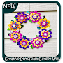 Creative Styrofoam Garden Welcome Wreath Tutorial APK icon