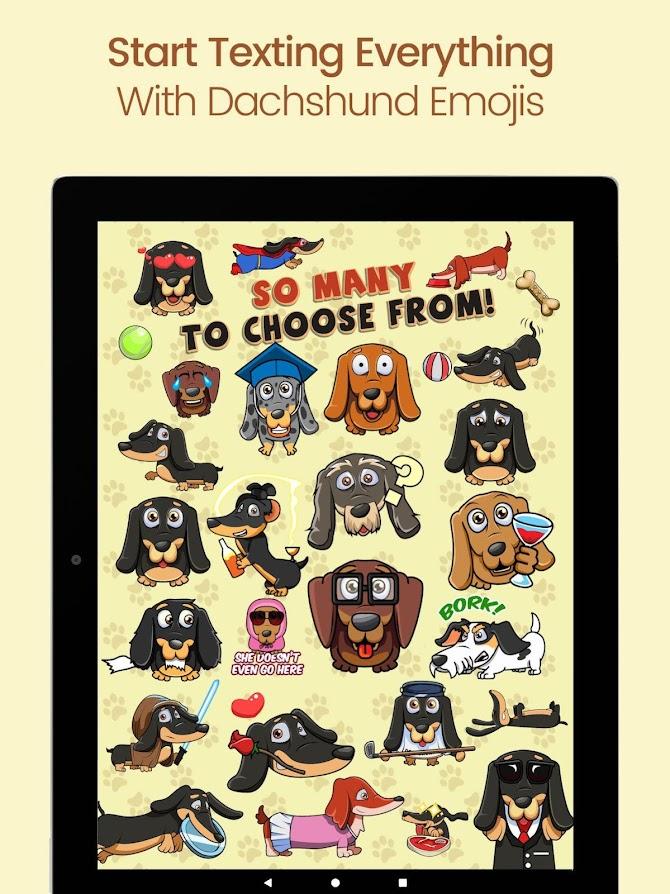 SausageMoji Stickers Android 10