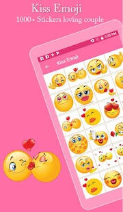Kiss Emoji – Couple Kiss Stickers Apk Android – gameapks com