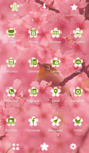 Bird & Cherry Blossoms Theme 1.0.0 Windows u7528 3