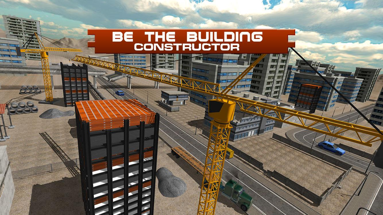 City building construction sim android apps on google play for Build your own house simulator