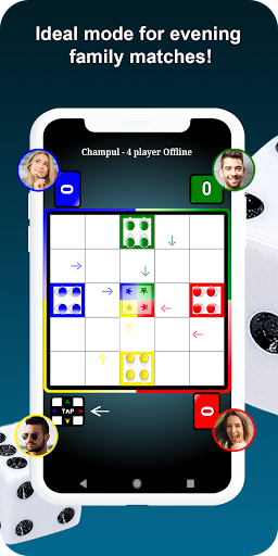 Indian Ludo (Champul Game Online 2020) 7.3 screenshots 3