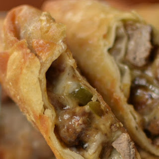 Philly Steak & Cheese Egg Rolls.