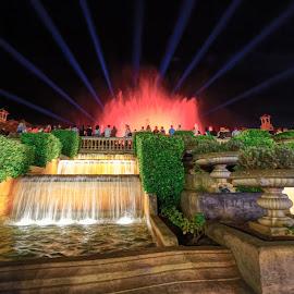 by RAJ (Constantinescu) Kapoor (Adrian Radu) - City,  Street & Park  Fountains