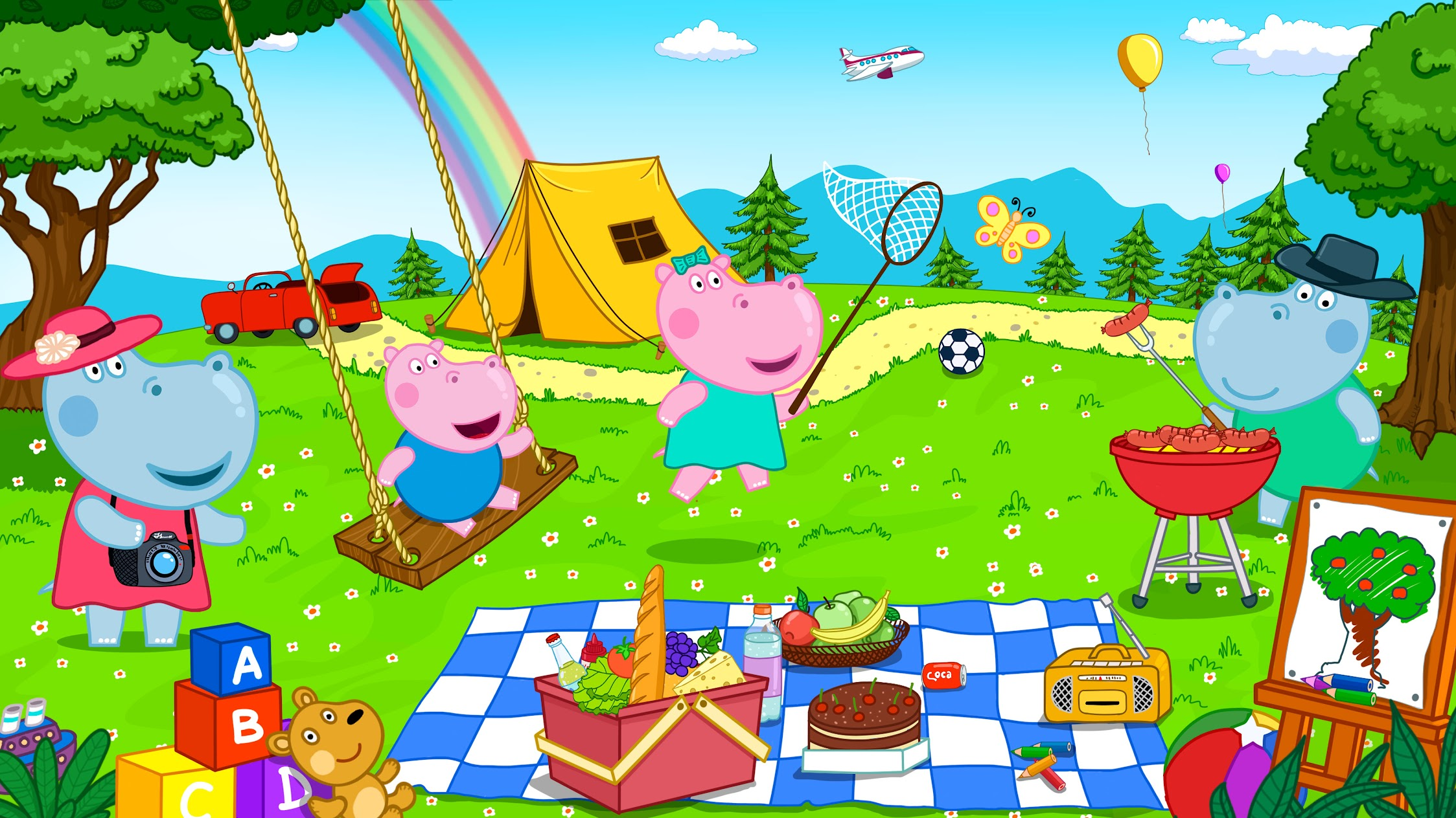 Hippo Nursery Rhymes