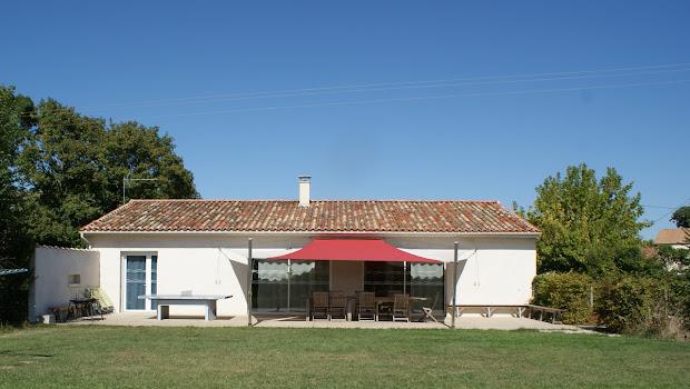 La Grange, casa rural de 8 personas con 3 dormitorios, cerca de La Rochelle y del mar.