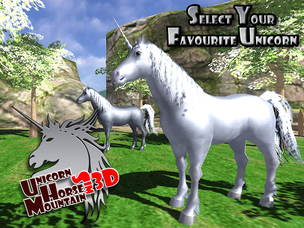 unicorn horse mountain sim 3d android apps on google play