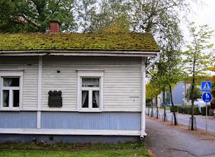Photo: Vaisalan veljesten synnyinkoti Sepänkadulla