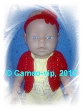 Photo: №Б3. 85грн. Болеро+повязка  на Baby Born 43 cм