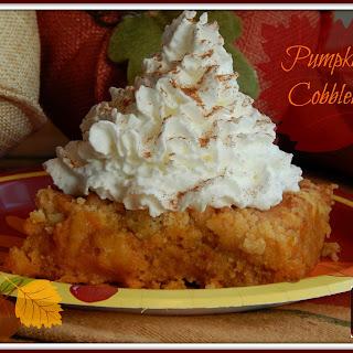 Pumpkin Cobbler.