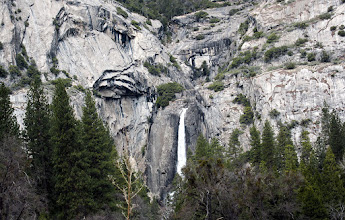 Photo: Area above LOWER Yosemite Falls.#3757cr -- There's also a third one in the middle.