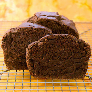 Chocolate Pumpkin Loaf.