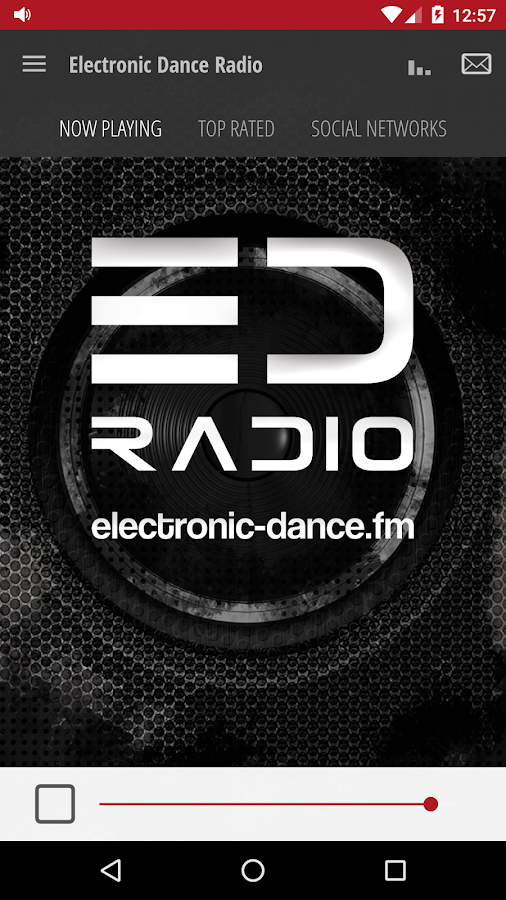 Electronic Dance Radio- screenshot