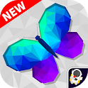 No.PolyArt Coloring Book - LoPoly Tangram Puzzle icon
