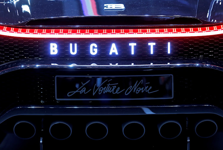 Only a Bugatti could get away with six tailpipes.