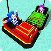 Blocky Bumper Cars Destruction