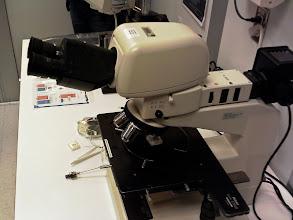 Photo: Nikon Optiphot 150 Microscope
