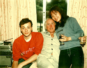 Photo: With Sally & Dave Gilhooly @ my legendary 42 Wood Road Kenneth Ko apartment , Casale V  - 1982.