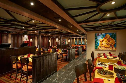 carnival-panorama-JiJi.jpg - Try Singapore chili shrimp or slow-braised Wagyu beef short rib at JiJi Asian Kitchen.