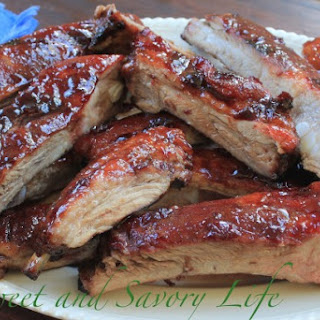 Cherry Poppin' Spareribs Recipe