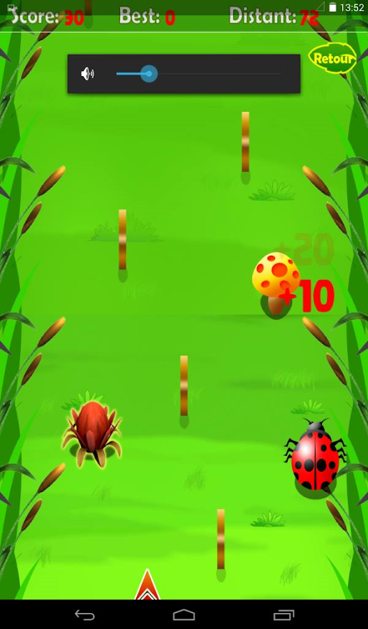 Magic Ladybug game- screenshot