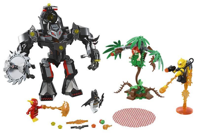Contenido de Lego® 76117 Robot de Batman™ vs. Robot de Hiedra Venenosa