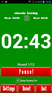 Boxing Interval Timer screenshot 3