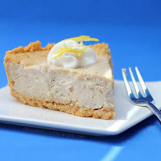 Lemon Cloud Cheesecake.