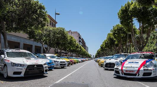 Aznar y Galán siguen mandando en el Rallye Costa de Almería