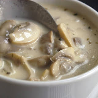 Easy Cream of Mushroom Soup.