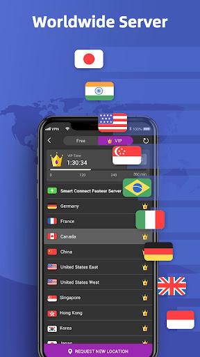 Free Melon VPN Pro - Unlimited Ultra Fast Proxy 1.4.201 screenshots 5