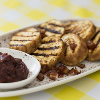 Grilled Eggplant with Moroccan Sauce