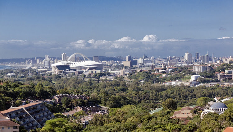 A view of the suburban and city landscape of Durban, South Africa. Picture: ISTOCK