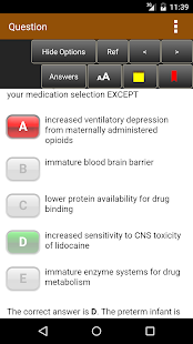 Anesthesiology Examination and Board Review Screenshot