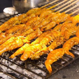 Spicy Cajun BBQ Shrimp.