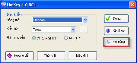 Download sử dụng UniKey
