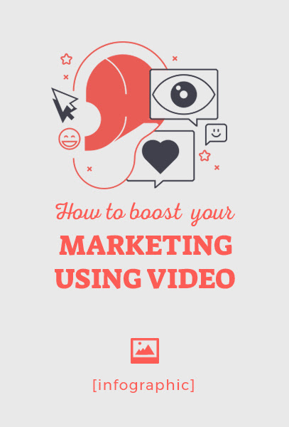 INFOGRAPHIC how to boost your marketing efforts with video
