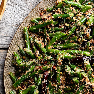 Stir-Fried Green Beans with Coconut Recipe