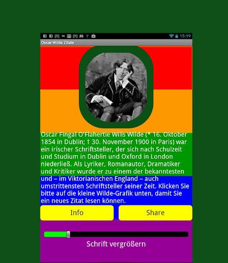 100 Oscar Wilde Zitate Deutsch 1.0 screenshots 1