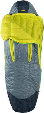 NEMO Disco 30 Men's Sleeping Bag - 650 Fill Power Down with Nikwax, Regular, Spark/Fortress alternate image 4