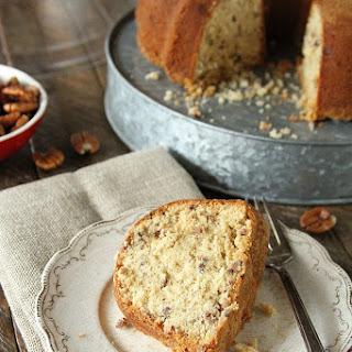 Brown Sugar Pecan Pound Cake.