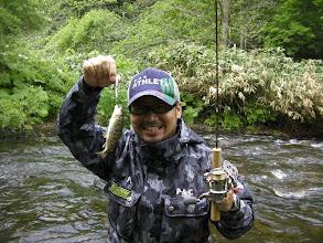Photo: 釣竿のレンタル・エサの販売もあります。朝里川で大物を釣ってBBQを豪華に!?