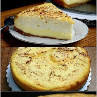 Layered Crème Brûlée Cheesecake