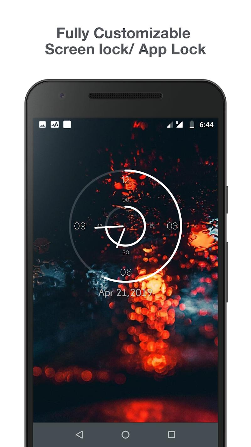 Knock lock screen - Applock Screenshot 2