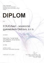 Photo: Internetová matematická olympiáda - 13. prosinec 2010.