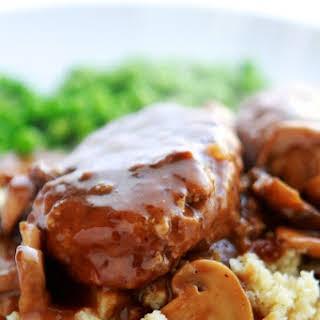 Turkey Salisbury Steak.