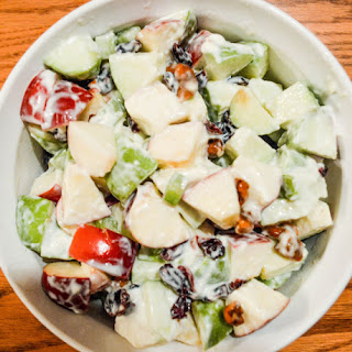 Lightened-up Waldorf Salad